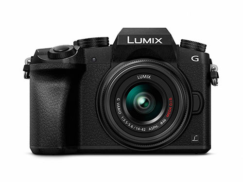Panasonic LUMIX DMC G7KK mirrorless camera under 500