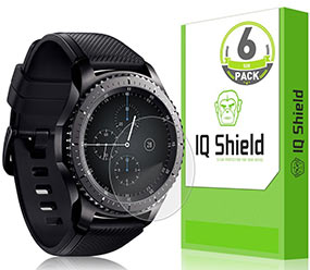 Samsung Gear S3 screen protector by IQ Shield