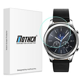 Samsung Gear S3 screen protector by Mothca