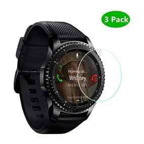 Samsung Gear S3 screen protector by Poy