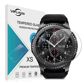 Samsung Gear S3 screen protector by Viflykoo