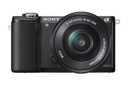 Sony A5000 mirrorless camera under 500