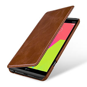 StilGut LG V20 leather case