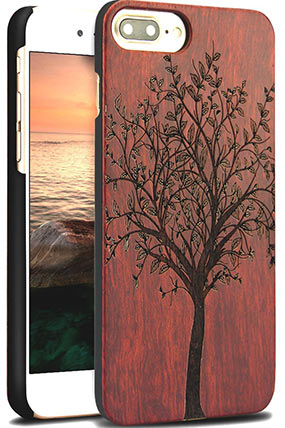Yfwood wood case for iPhone 7 Plus