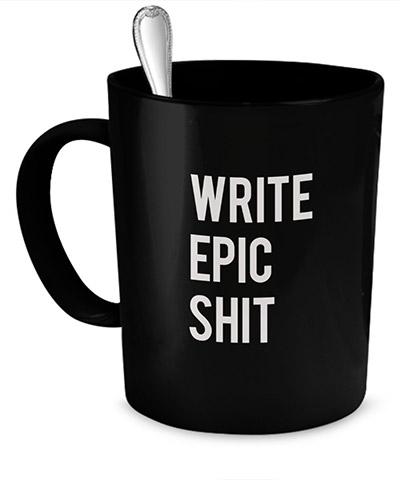 Mug gift for writer