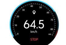 Speedometer Gear S3 app