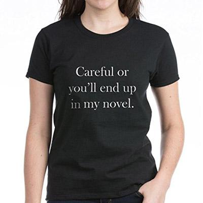 Tshirt for writers