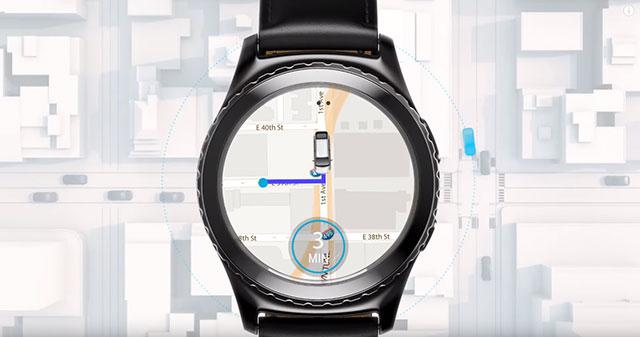 Uber Gear S3 Uber app