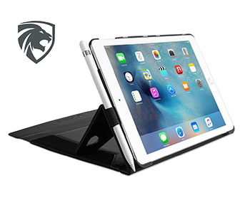 ZooGue iPad Pro 9.7 case with pencil holder