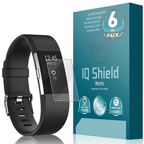 IQShield Fitbit Charge 2 Screen Protector