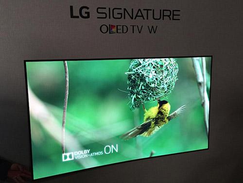 LG's W7 OLED TV