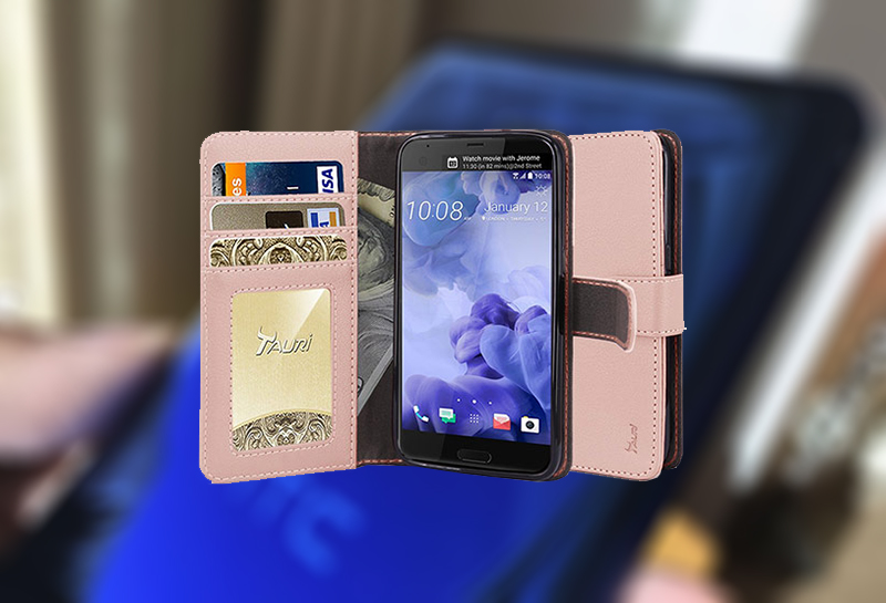 best htc u ultra wallet cases