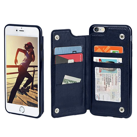 best iphone 7 folio case from gear best