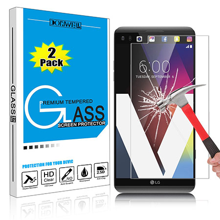 best lg v20 screen protector from donwell