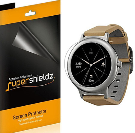 best lg watch style screen protector from supershieldz