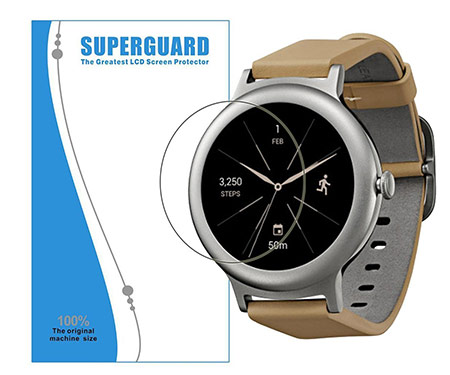 best lg watch style screen protector from topace