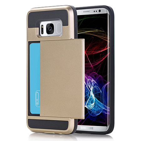 Samsung Galaxy S8 Plus case card holder