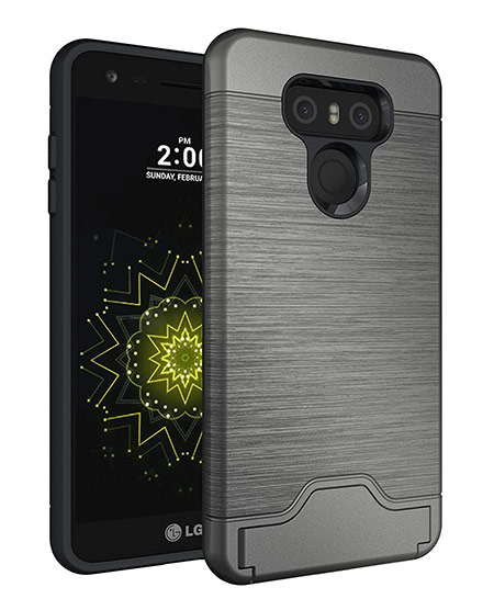 best lg g6 case with card holder from vigeer