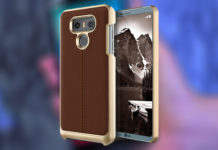 best lg g6 leather cases