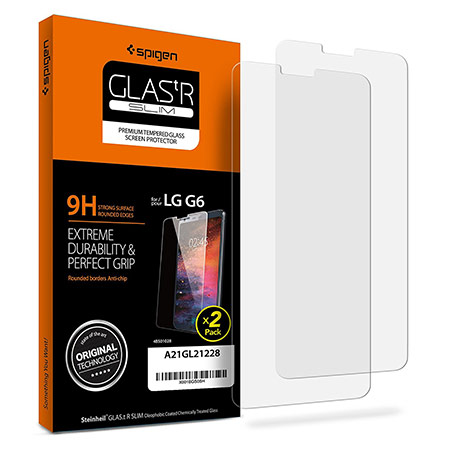 lg g6 spigen screen protector