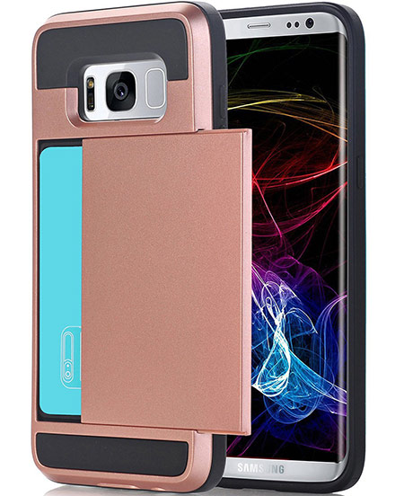 best samsung galaxy s8 plus wallet case from crosspace
