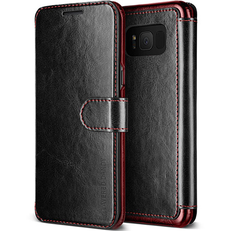 best samsung galaxy s8 wallet case from lumion