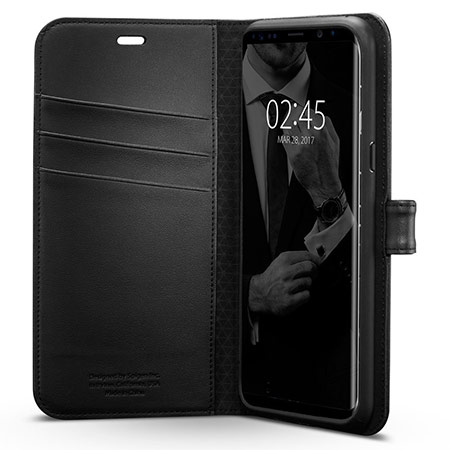 best samsung galaxy s8 wallet case from spigen 2