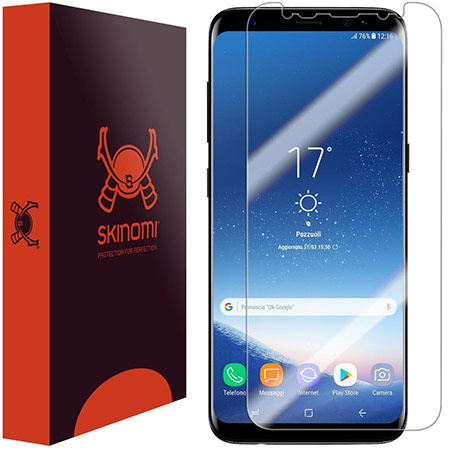 samsung galaxy s8 plus screen protector from skinomi