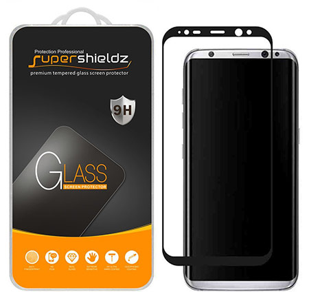 samsung galaxy s8 plus screen protector from supershieldz