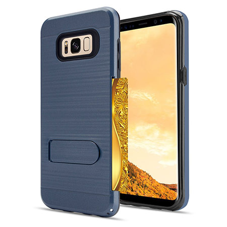best samsung galaxy s8 case with card holder from anoke