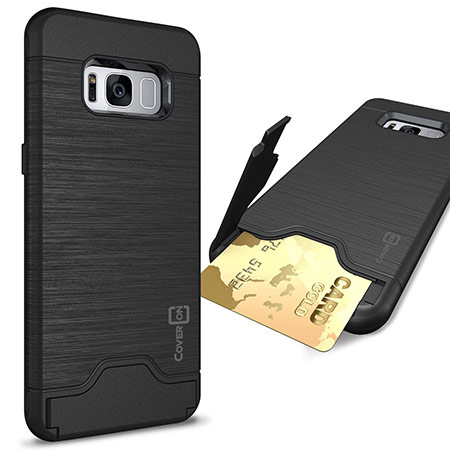 best samsung galaxy s8 case with card holder from coveron