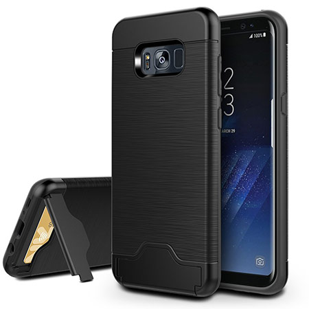 best samsung galaxy s8 case with card holder from easyacc