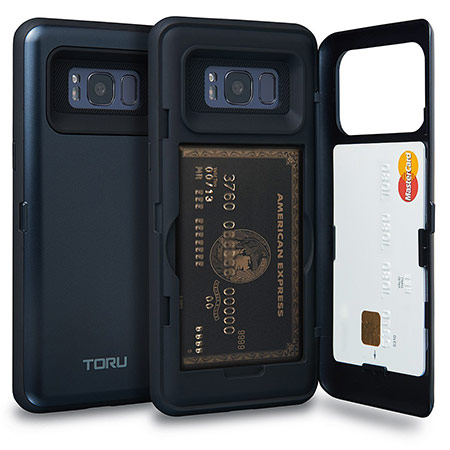 best samsung galaxy s8 case with card holder from toru