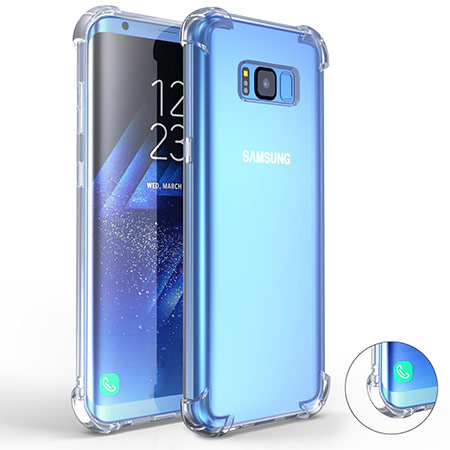 best samsung galaxy s8 clear case from comsoon