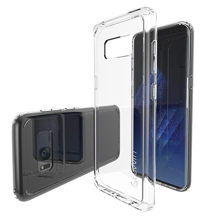 best samsung galaxy s8 clear case from luvvitt