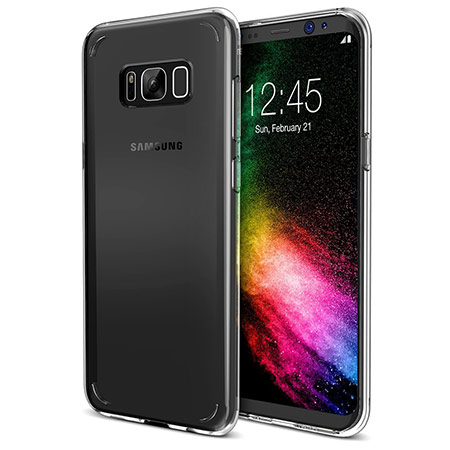 best samsung galaxy s8 clear case from trianium