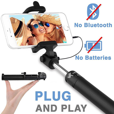 best samsung galaxy s8 and s8 plus selfie stick from voxkin