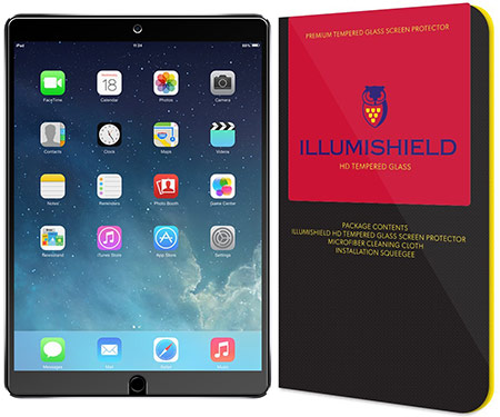 best 10.5-inch iPad Pro Tempered Glass Screen Protector from ilumishield