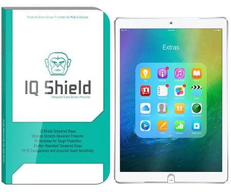 best 10.5-inch iPad Pro Tempered Glass Screen Protector from iqshield