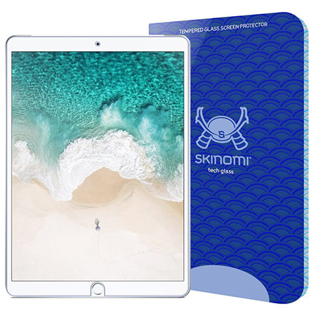 best 10.5-inch iPad Pro Tempered Glass Screen Protector from skinomi