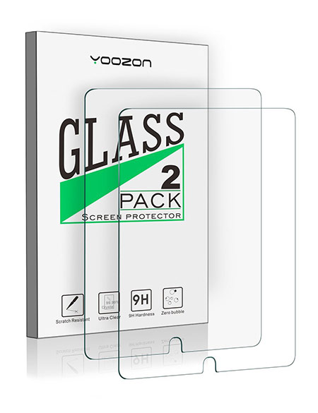 best 10.5-inch iPad Pro Tempered Glass Screen Protector from yoozon