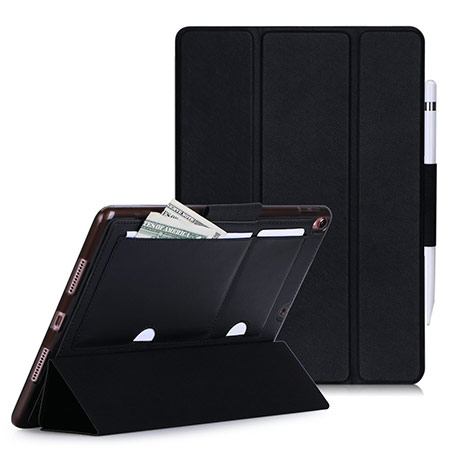 best 10.5-inch ipad pro case with pencil holder from fyy