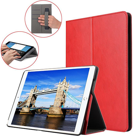 best 10.5-inch ipad pro case with pencil holder from wineecy