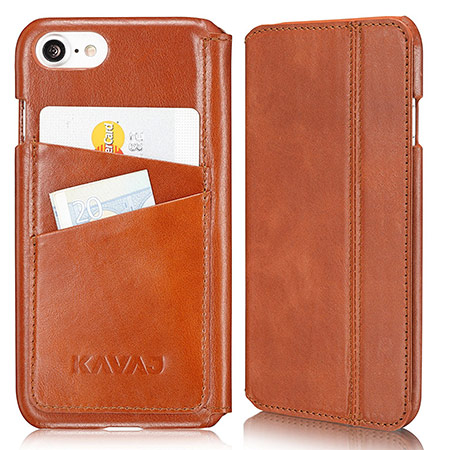 best iphone 8 leather case from kavaj