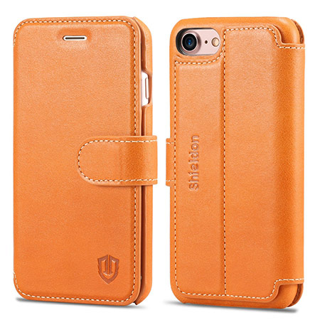 best iphone 8 leather case from shieldon 2