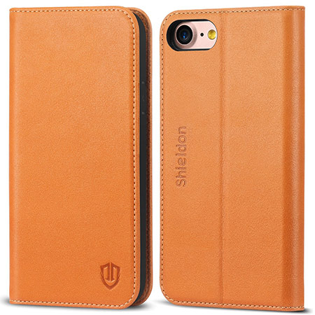 best iphone 8 leather case from shieldon