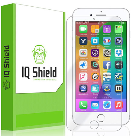 best iphone 8 plus tempered glass screen protector from iqshield