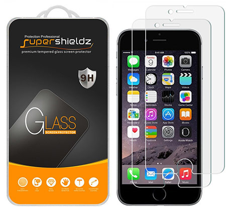 best iphone 8 plus tempered glass screen protector from supershieldz