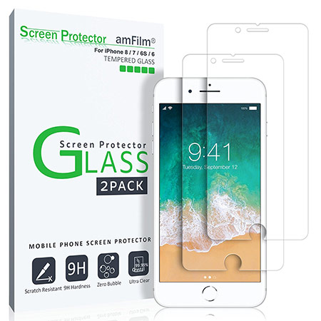 best iphone 8 screen protector from amfilm