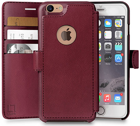 best iphone 8 wallet case from lupa